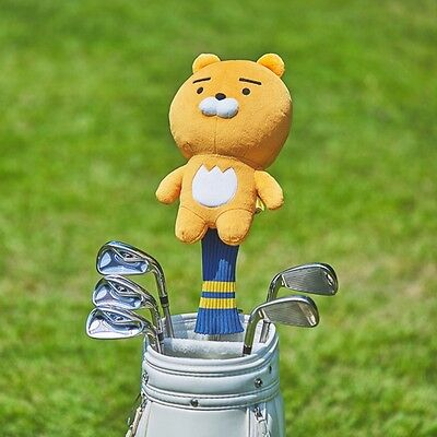 Kakao Friends Official Goods Ryan Driver Cover Golf Club Head Cover Plush 72