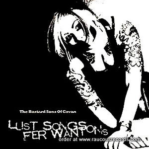 BASTARD-SONS-OF-CAVAN-Lust-Songs-Fer-Wantons-CD-psychobilly-rockabilly-trash