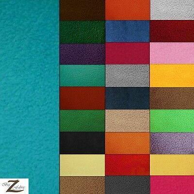 Fabric 30 Yard Bolt - SOLID POLAR FLEECE FABRIC BY THE ROLL - 30 YARD BOLT ANTI  PILL DIY BLANKET