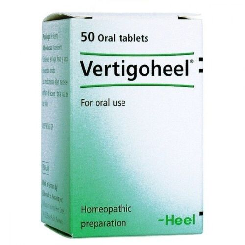 Vertigoheel Heel Homeopathic oral use 50 tabs from dizziness of various origin