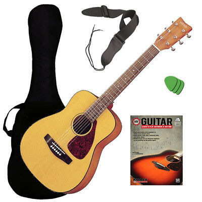Yamaha JR1 Junior 3/4 Scale Mini Acoustic Guitar GUITAR ESSENTIALS BUNDLE