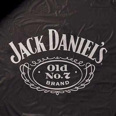 Jack Daniels Heavy Weight Black Vinyl Pool Table Cover - 8ft. Black Vinyl Pool Table Cover
