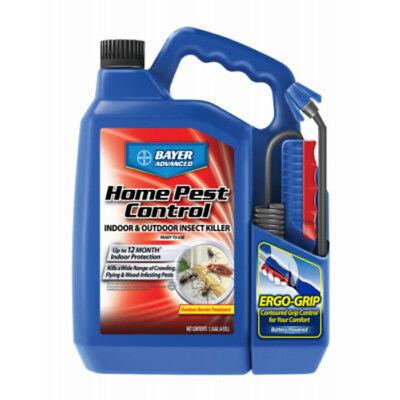 Outdoor Home Pest Control (Bayer Advanced 502798A Home Pest Control Indoor & Outdoor Insect Killer, 1.3 Gal )