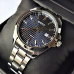 "Seiko - ""NO RESERVE PRICE"" Classic Blue Textured Dial Date H"