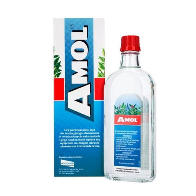 AMOL liquid - 100ml , AMOL płyn - 100ml