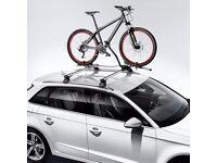 Audi A3 roof bars + 3 x bike racks