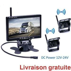 2 Camera de recul + ecran 7 pouces  /  Wireless Backup Camera Kit 7 Inch Screen Monitor Québec Preview