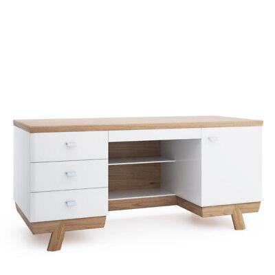 Aspen Holz (Moderner Schreibtisch Tisch Schreibtische Büro Office Chef Tische Holz Aspen)