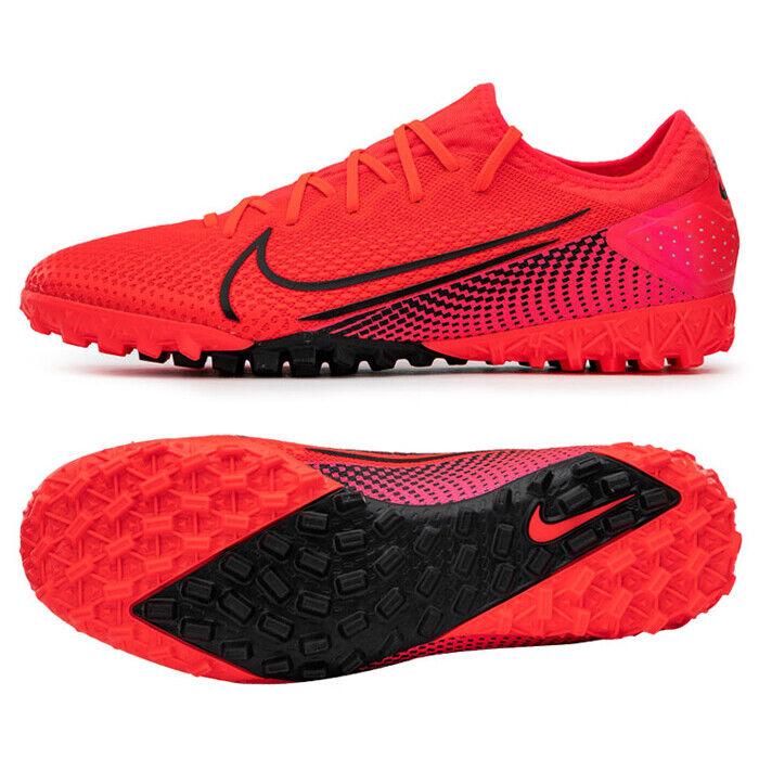 controlador densidad Inseguro  Nike Mercurial Vapor 13 PRO TF Turf Football Shoes Soccer Cleats Red  AT8004-606 | eBay