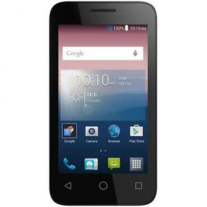 ALCATEL ONE TOUCH PIXI 3 A460T UNLOCKED FIDO ROGERS CHATR KOODO VIRGIN MOBILE TELUS BELL CUBA VIDEOTRON ANDROID 4G GPS