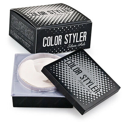 Color Styler WAX Silver Ash 90ml  Easy Hair color change and Styling -White Gray