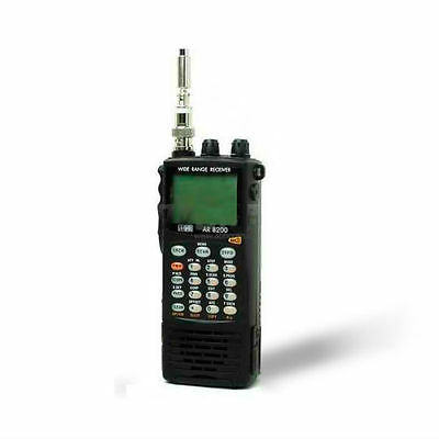 EU STOCK AOR AR-8200D APCO25 wideband communications receiver UNBLOCKED