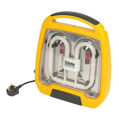 Defender IP44 Indoor Outdoor 38W 2D Bulb Work Light 240V *NEW & VAT RECEIPT INC*