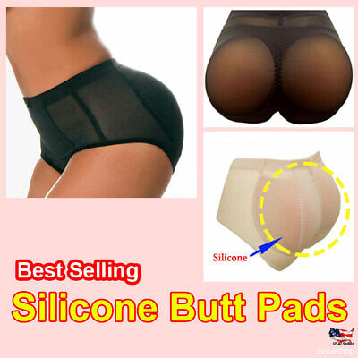Best #1 Big SIlicon Butt Padded Enhancer Removable Pads PANTIES Booty