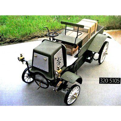 Bauplan Daimler Lastwagen