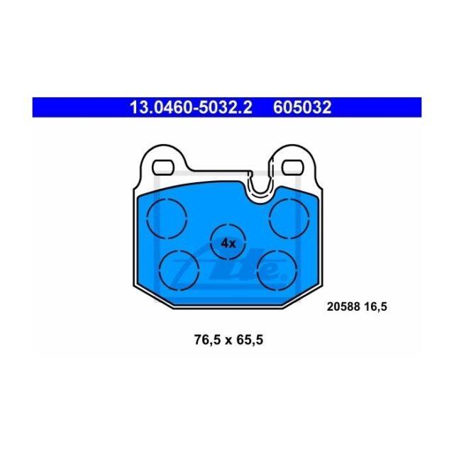 ATE 13.0460-5032.2 Bremsbelagsatz, Scheibenbremse  Links BMW 3er M1