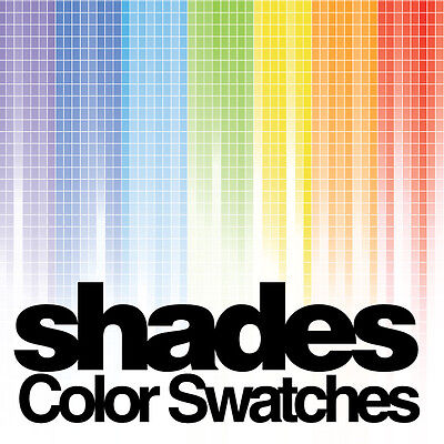 shades color swatches