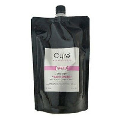 Cure One Step Hair Treatment Rebonding Straightening Straight Cream