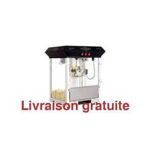 Machine a popcorn / Oscar Commerical Popcorn Machine Table Top Black