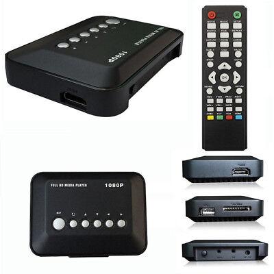 Hd 1080P Usb Hard Drive Upscaling Multi Media Player Mkv Avi Rmvb New Excellent