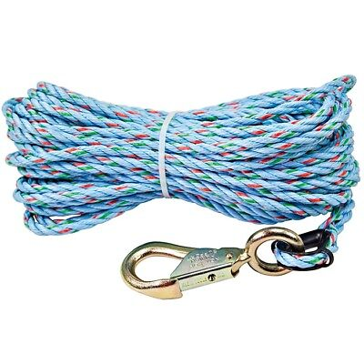 Klein 1803-60 Polypropylene Hand-line Rope With Snap Hook 516 X 75 Ft -no443a