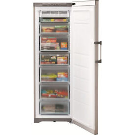 Hotpoint Future upright freezer FZFM171, Graphite colour.