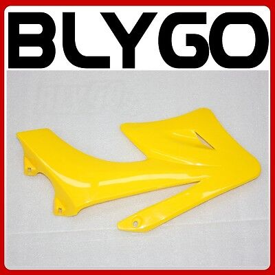 Yellow Plastic Front LEFT Side Tank Guard Fender APOLLO ORION Styl PIT Dirt Bike