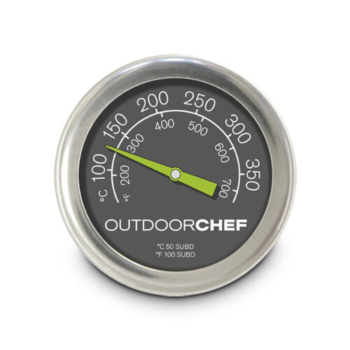 Outdoorchef Grillthermometer Deckelthermometer Grill Thermometer 100 bis 350 °C