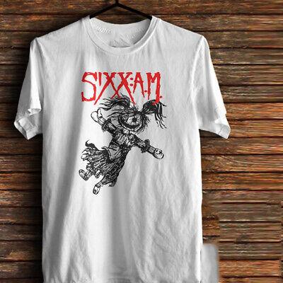 Sixx Am Life Is Beautiful Baby Doll Cotton White Men S-4XL T-shirt T1406 Man Baby Doll T-shirt
