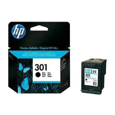 ORIGINAL HP Tintenpatrone Schwarz Nr. 301 CH561EE Black Cartridge *NEU*
