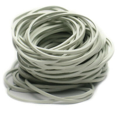 200 Rubber Bands Size 16 White 2 12 X 116 Natural Elastics Strong Sturdy