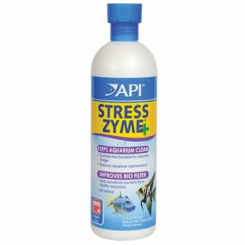 Aquarium Pharmaceuticals AAP56E Stress Zyme 16oz