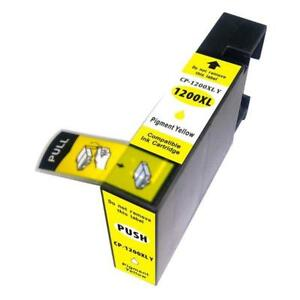 Replacement Ink Cartridge for Canon MAXIFY MB2020 MB2320 MB2720 PGI-1200XL High Yield Cyan Magenta Yellow