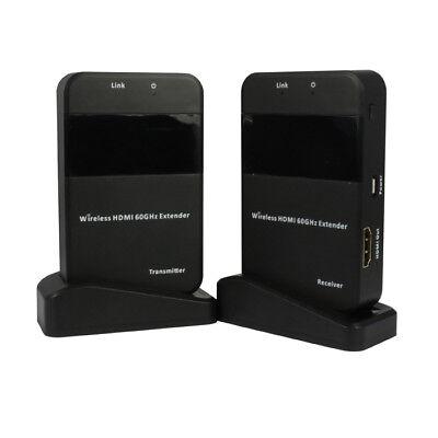 A09 50m 60GHz Wireless HDMI Video Extender Kit WIHD AV für PC HDTV DVD Player Wireless Hdmi Extender