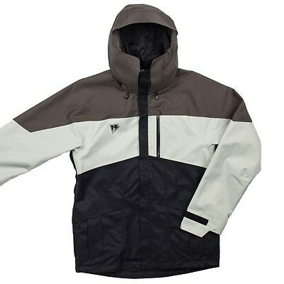 Homeschool The Factory Ski Snowboard Jacket Parka GMO14F07 Mens Black New S $300
