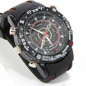 8GB HD Spy Waterproof WristWatch Hidden Camera DVR Video Recorder Camcorder