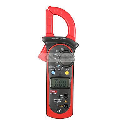 UNI-T UT202A AC/DC Digital Stromzange Zangenamperemeter Multimeter Messgerät EU