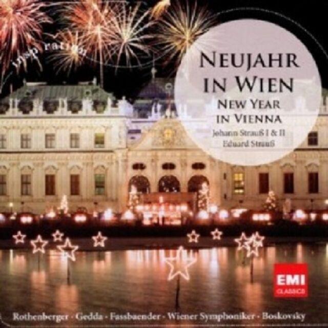 BOSKOVSKY/NEUJAHR IN WIEN-NEW YEAR JOHANN (SOHN, VATER) STRAUSS CD 19 TRACKS NEU