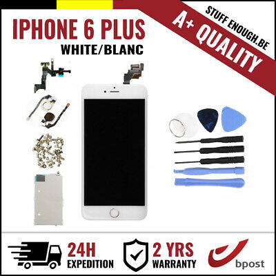 A+ LCD TOUCH SCREEN/SCHERM/ÉCRAN ASSEMBLY WHITE BLANC + TOOLS FOR IPHONE 6 PLUS