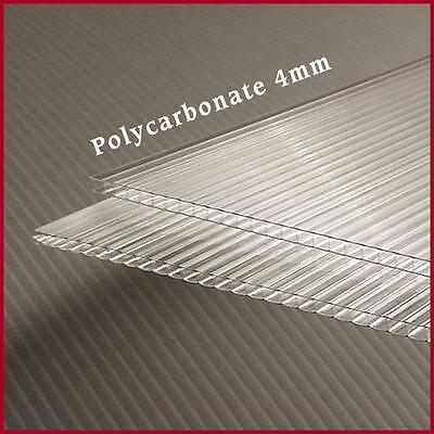 GREENHOUSE COVER 4mm POLYCARBONATE SHEETS 2ft x ...
