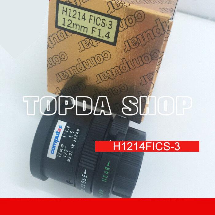 "1PC Computar H1214FICS-3 NEW 12mm F1.4 1/2"" Industrial Camera Manual Lens#SS"