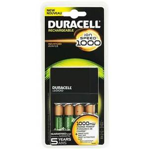 Chargeur Duracell pour piles AAA et AA
