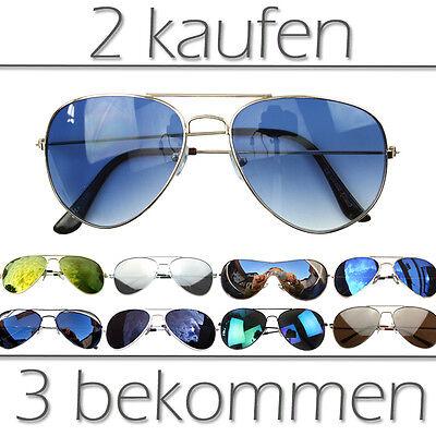 »Pilotenbrille Sonnenbrille Pornobrille Aviator Sunglasses - Aviator Sonnenbrille