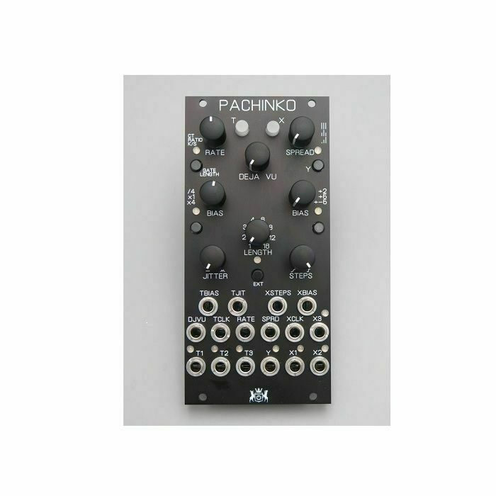 Michigan Synth Works Pachinko Random Sampler Module (black faceplate)