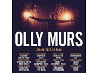 Olly Murs Bournemouth 28th March 2017 Standing