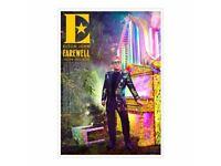 "Original David LaChapelle Show Poster American Jesus Michael Jackson 24/"" x 36/"""