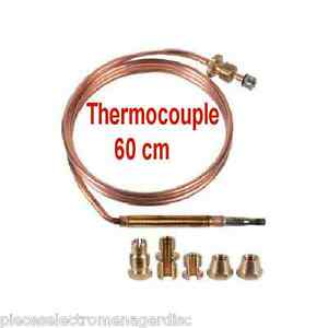 Thermocouple gaziniere