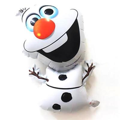 OLAF Snowman Frozen Theme Christmas party foil Air or Helium Fill Xmas balloon](Frozen Theme Party)