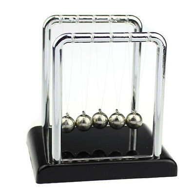 Physics Science Accessory Desk Toy Newtons Cradle Steel Balance Ball