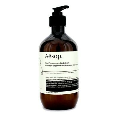 New Aesop Rind Concentrate Body Balm 17Oz Womens Skincare